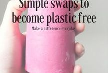 Plastic Free & Zero Waste / For 2018 my partner and myself are trying to cut down on all the plastic that we use. It's certainly going to be challenging! Here are some pics and tips that I've collected from Pinterest and further afield to help me (and maybe you) go plastic free.