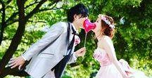 ブライダルフォト / 結婚式のシーンや前撮り写真♪ かわいい写真が満載です☆