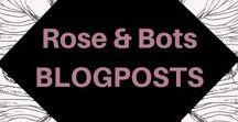 Rose&Bots Blogposts / Der Rose&Bots-Blog www.roseandbots.com ist ein Guide für digitales Personal Branding für eine klare Sichtbarkeit im Netz. Du findest hier Tipps und Tools für dein digitales Markenbranding, Social Media und Blogging Tipps, sowie Inputs zu einem ausgeglichenen digitalen Lifestyle.