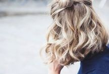 Hair and Beauty / I'm always on the lookout for simple hair and beauty tricks.