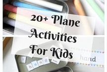 Travelling with Kids / Tips and advice for travelling with children, either by plane or on a road trip #travel #kids