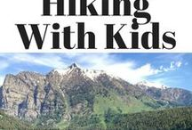 Hiking with Kids / Hiking with kids can sometimes be challenging. Here are some tips and ideas to help everyone (and especially kids) enjoy their hiking experience. #hiking #hikingtips #kids