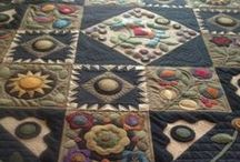 Wool Applique...I just can't get enough!