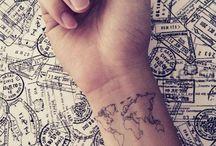 {Tattoos & Piercings.} / by haley jean