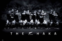 New Zealand All Blacks / The world's mightiest rugby team!
