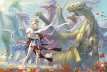 Absolutely Draconine / Here there be dragons / by Vy Thuy Nguyen