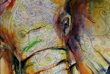Of Elephants and Seahorses / Of land and sea and sky / by Vy Thuy Nguyen