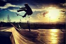 Life is a lot like skateboarding.....