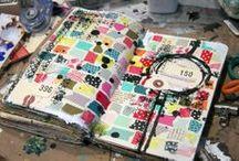 sketchbooks & visual journals / Sketchbooks, art journaling, visual journaling