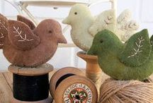 Pincushions, Pillows and Bowl Fillers