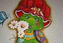 Meus passo a passo no site http://www.catiaartesmanuais.com/ / Passo a passo de pintura