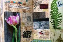 junk journals, smash books, & glue books / junk journals, smashbooks, glue books & collage journals