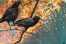 Raven Family Art / by Peggy Vahlsing