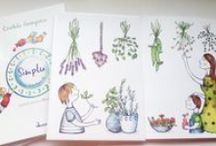 Book illustrations / Illustration for an illustrated cook book
