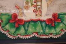 vídeos aulas de pintura Cátia Amélia / Vídeo de pintura em tecido, pintura country
