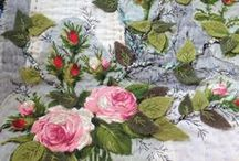 stitchy patchwork / Patchwork stitching quilting embroidery
