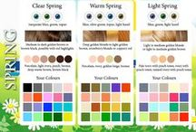 contrasting-clear-bright spring (seasonal color analysis)