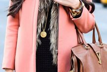 Tan and Blush Fashion / Pretty powdery shades of soft pinks and soft browns