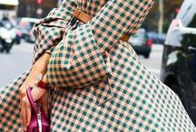 Plaid, Tartan, Gingham Fashion / Sophisticated ways of wearing these prints