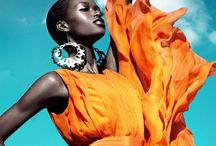 Orange Fashion Outfits / Crush it In orange. Not For the faint hearted