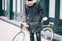 Bike Style - Cold Climates / All genders, all ages - Here's a collection of bike swag for the snazziest of cyclists, to inspire you on cold days when you still feel like lookin' fly. Proving the cold ain't no barrier to styyyyle.