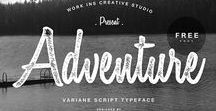 Free Fonts / Free Fonts to make your projects and designs look awesome for FREE!-)