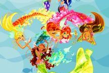WINXmagic / hey guys , this board is about  winx club we all girls believe in fairies and fairies of winx make it a perfect fairy tale with adventure fun and love if u like winx club do follow me