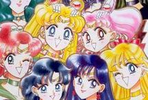 SAILOR SCOUTS / hey guys, this board is about sailor moon AND FRIENDS we all love them from bottom of heart even if u do  follow me