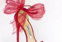 FASHION SOUL / Brittany Fuson, Lust List ,Fashion Illustration all  about  fashion  illustration