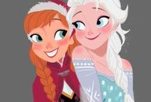 Frozen Sisters / i want sis like Anna who loves me the most  frozen sis r one great example of sis love
