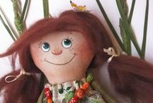 Textile toys. Смирнова Любовь. / Куклы и игрушки на продажу.