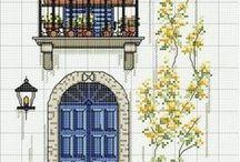 haft - okna, drzwi