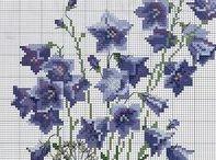 haft - kwiaty - dzwonki