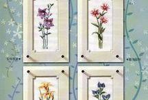 haft - kwiaty 1 - serie