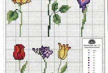 haft - rośliny 3 - małe