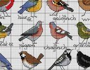 haft - ptaki 1 - małe