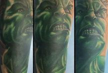 Avengers Tattoos by Gringo
