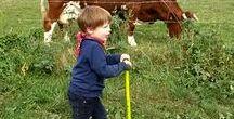 BABY, KIDS & FAMILY | at home & on the run / Spielideen für drinnen und draussen; Nützliches zur Fortbewegung mit Kind und Kegel