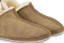 Warme voeten / Producten van schapenwol die jou warme voeten bezorgen.