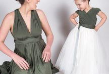 Multiway Bridesmaids / All things multiway dresses. For more information go to www.only-way.uk