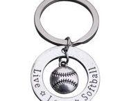 Softball Keychain / Softball