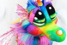 FAERIES, PUPPETS & WHIMSY / Puppets and Fairy's of all Natures / by Suzy Sholar