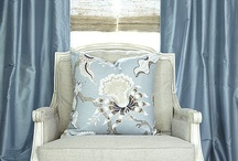 """Solid Silk Custom Drapes / These are the Solid Silk Drapes that House & Garden Called """"Beautifully Made to Order"""".  Each custom panel is made to order to your exact measurements and specifications.  We can make your drapes to accommodate any size window and each is made right here in our California Studio.  Fabric samples are available at http://www.DrapeStyle.com or feel free to call one of our Designers for help selecting your perfect fabric option at 800-760-8257. / by DrapeStyle"""
