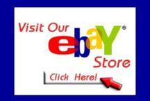 $ eBay World $ / This will give us more exposure.  A place to post your listings.  Anyone can join sellers-buyers-watchers.  On eBay you can find some fantastic DEALS!   ALL EBAY RULES & GUIDELINES WILL BE FOLLOWED. Join eBay  http://www.ebay.com/  You will be able to find other information. Happy selling & buying on eBay!  Have Fun!   Thank you!