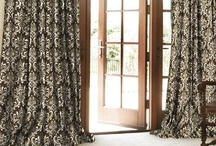Traditions Cotton Custom Drapes by DrapeStyle / Our line of Traditions Cotton combines printed cotton fabrics in a wide variety of styles and patterns with our handmade quality.  The result is a beautiful custom made drapery at a very competitive price point.    Feel free to call one of our Designers at 800-760-8257  www.DrapeStyle.com / by DrapeStyle