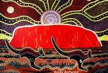 art lesson - AUSTRALIAN ABORIGINAL / by Suzy Sholar