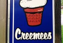 Vermont Creemee Stands / Soft serve ice cream, cree-mee, or creamee. Whatever you call it, when in Vermont you gotta get some! Click-thru to read reviews on all these great spots.