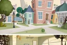 Background / Background, Movie, Animation Film