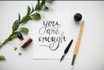 My Lettering Inspiration