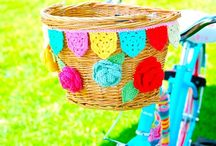 B- i want to ride my BICYCLE!!! / Fun and playful things to do with my cheerful bike. / by Suzy Sholar